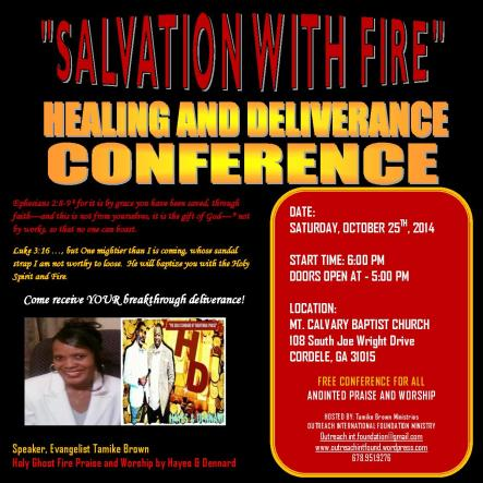 Salvation With Fire. Image